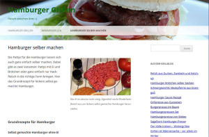 Hamburger Grillen